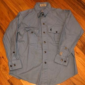 Boys small browning button up